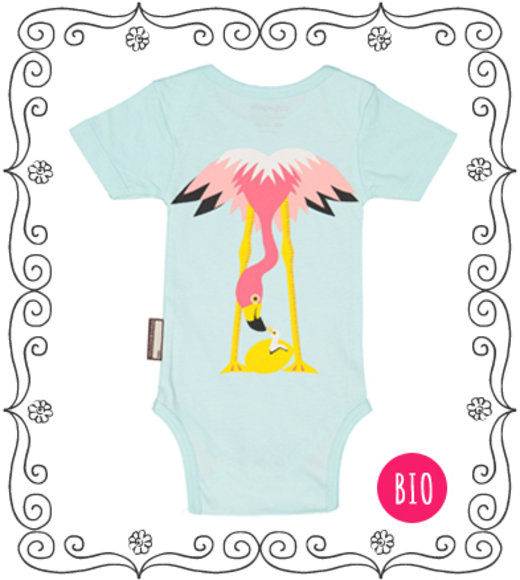 coq en pate Body Flamingo