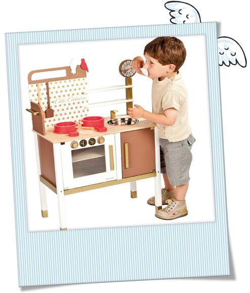 schöne Holz-Küche, Janod - Babygeschenke, Taufgeschenke, Geschenke ...