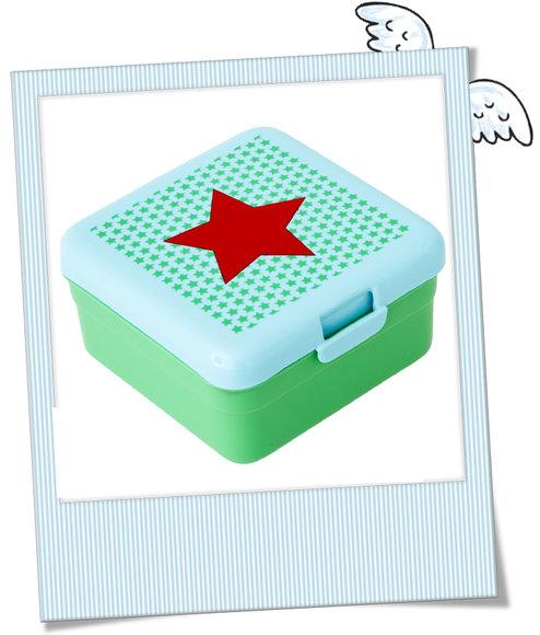 KInder Lunchbox Rice Stern grün