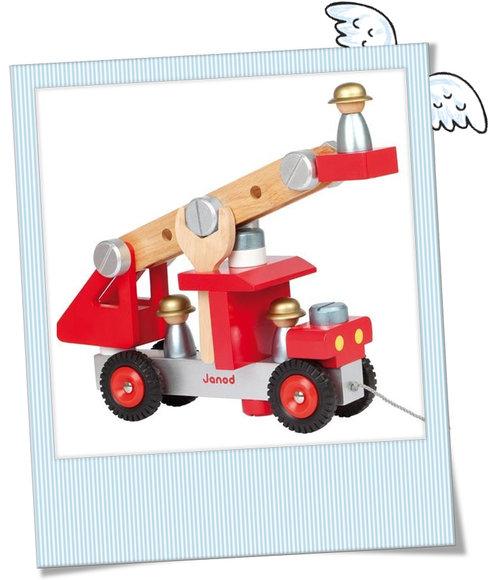 schöne Holz Feuerwehr