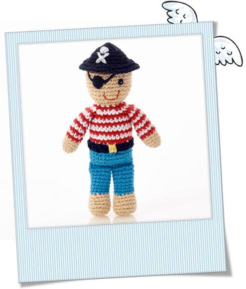 Baby rassel Pirat