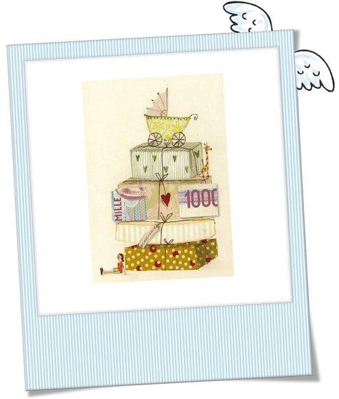 Geldgeschenk Karte.Nostalgische Geldgeschenk Karte Babywagen Babygeschenke